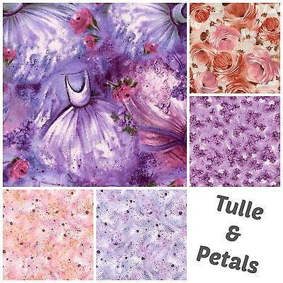 (TULLE & PETALS Collection Ballet Dance Pink Lilac Purple Ballerina Tutu Princess)