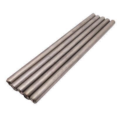 Us Stock 5pcs Dia 5.5mm Length 100mm 3.94 Tc4 Titanium 6al-4v Round Bar Rod