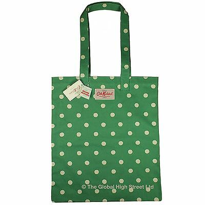 cath kidston buch tasche spot smaragd baumwolle 100 authentische bnwt ebay. Black Bedroom Furniture Sets. Home Design Ideas