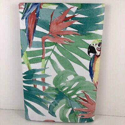 Summer Fun Vinyl Tablecloth Tropical Foliage Colorful Parrots Asst. Sizes](Tropical Tablecloth)