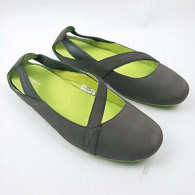 PATAGONIA Porge Gray Women's Size 9 Gray Slip On Flats -
