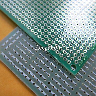 5pcs Stripboard Prototyping 6.5x8cm Pcb 5er Joint Hole Circuit Board Veroboard