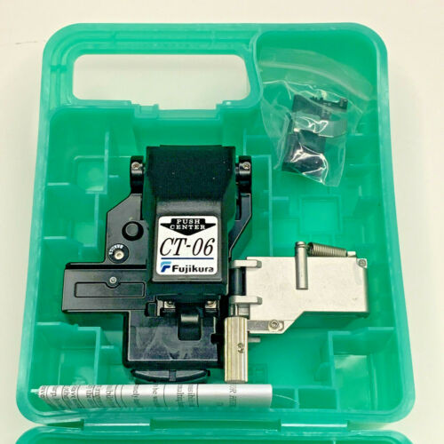 Fujikura CT-06 SM MM Fiber Optic Cleaver for Fusion Splicer