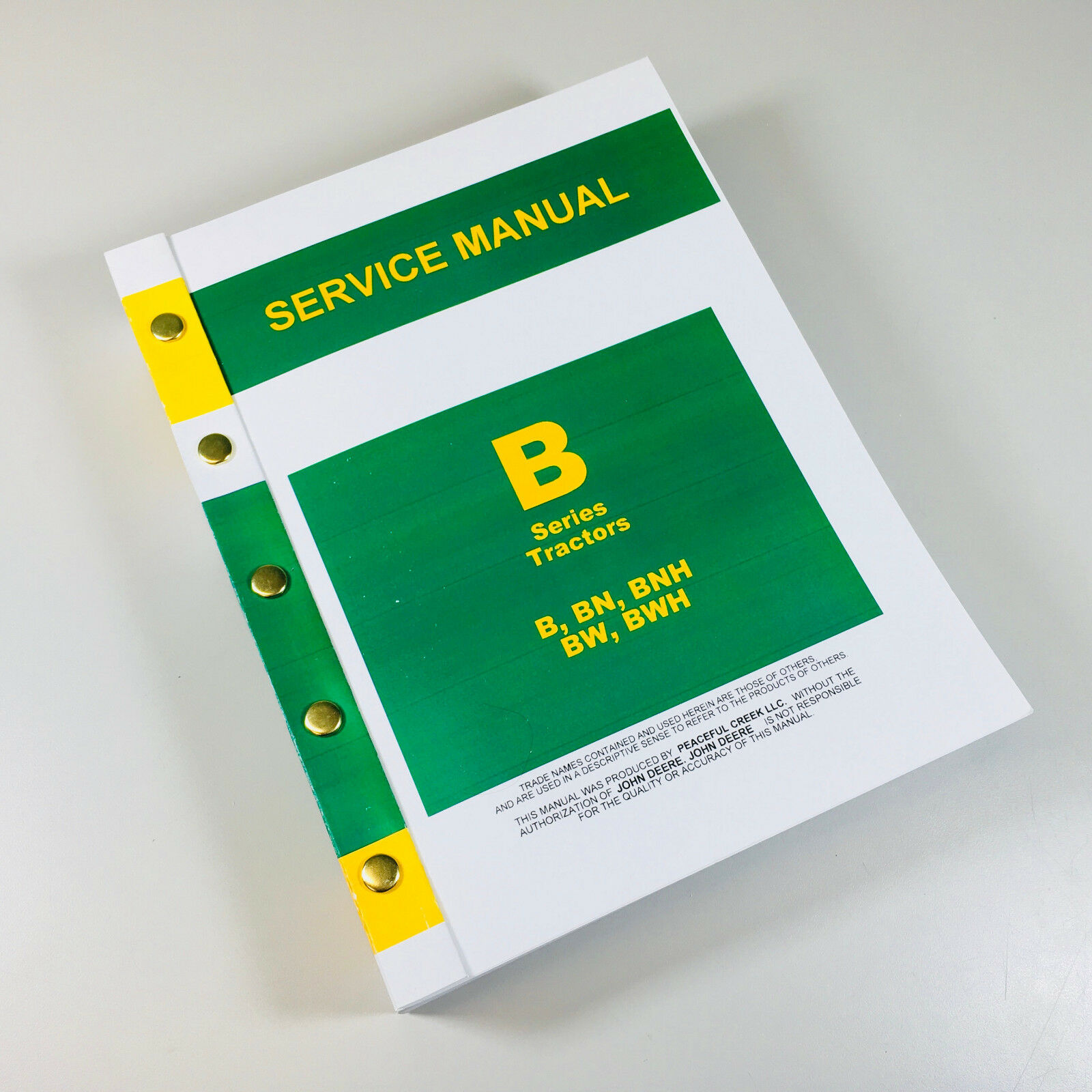 The General Service Manual (SM-2000) is included because it is much more in  depth for rebuilding carburetors, heads and valves, starters and generators  and ...