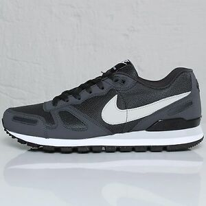 Nike Air Waffle Trainer Anthracite Grey/Black Men's Trainers Shoes UK 7