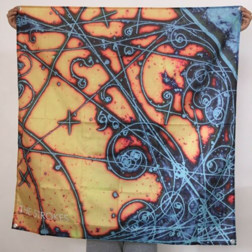 The Strokes Banner Is This It Tapestry Cover Logo Flag Fabric Art Poster 4x4 ft