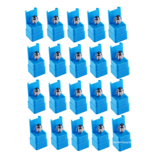 20Pcs Dental Cartridge Turbine For NSK Big Ceramic Bearings LED Air Handpiece TU