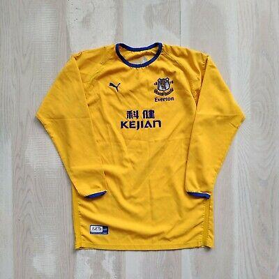 Everton  Jersey Long Sleeve Away football shirt 2003 - 2004 Puma Mens Size 32/34 image