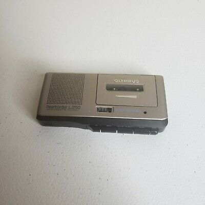 Rare Vintage Olympus Pearlcorder L250 Voice Activated Micro-cassette Recorder