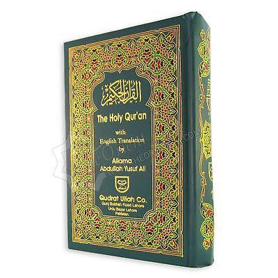 The Holy Quran with English Translation by Allama Abdullah Yusuf Ali 22x14cm
