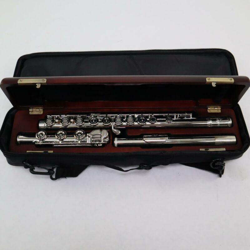 Antigua Model FL4530B Professional Solid Silver Flute BRAND NEW