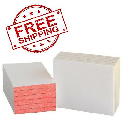 School Smart Scratch Pad 4 x 6 Inches 100 Sheets White Pack of 12 FREE SHIPPIN 12 Pack Scratch Pad
