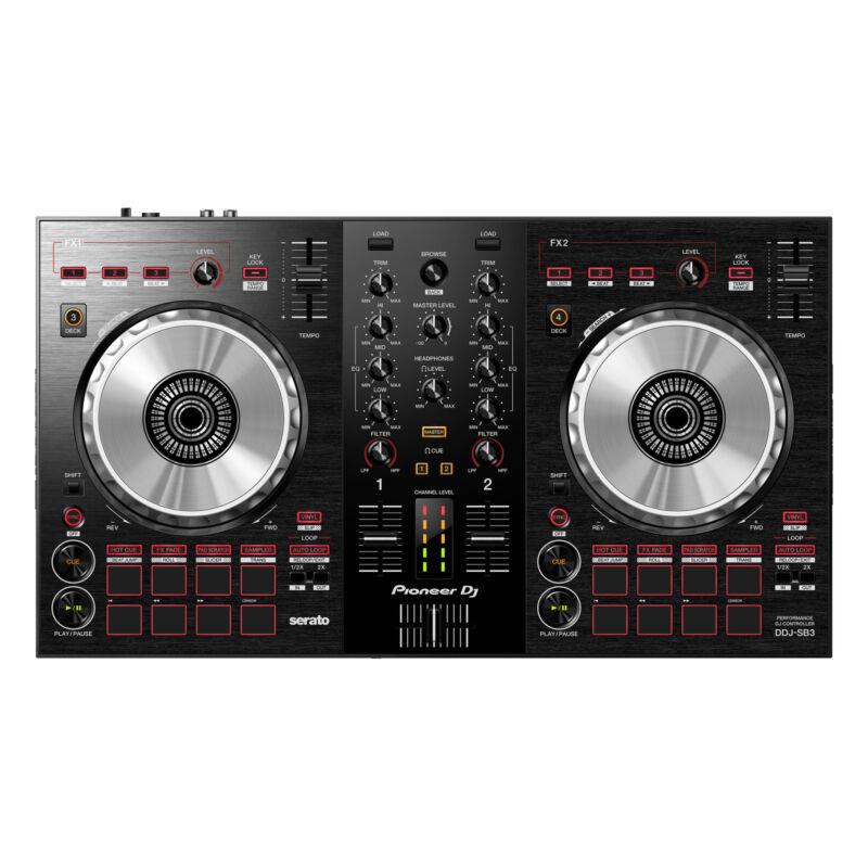 Pioneer DJ DDJ-SB3 Portable 2-Channel Serato DJ Lite Controller
