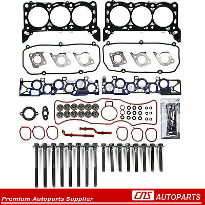 MLS Head Gasket Head Bolts Set 99-03 Ford Windstar 3.8L V6 OHV 12-Valve VIN 4