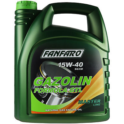 5 Liter Original FANFARO GAZOLIN Formula GTL 15W-40 API SG/CD Motoröl
