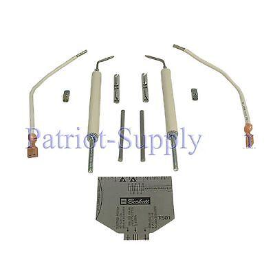 Beckett 51484u Electrode Kit For Beckett Afii Oil Burners Up To 9 Blast Tubes