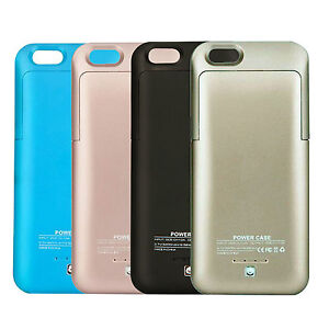 iPhone 6 & 6S Battery Charger Case Charging Cover External ...