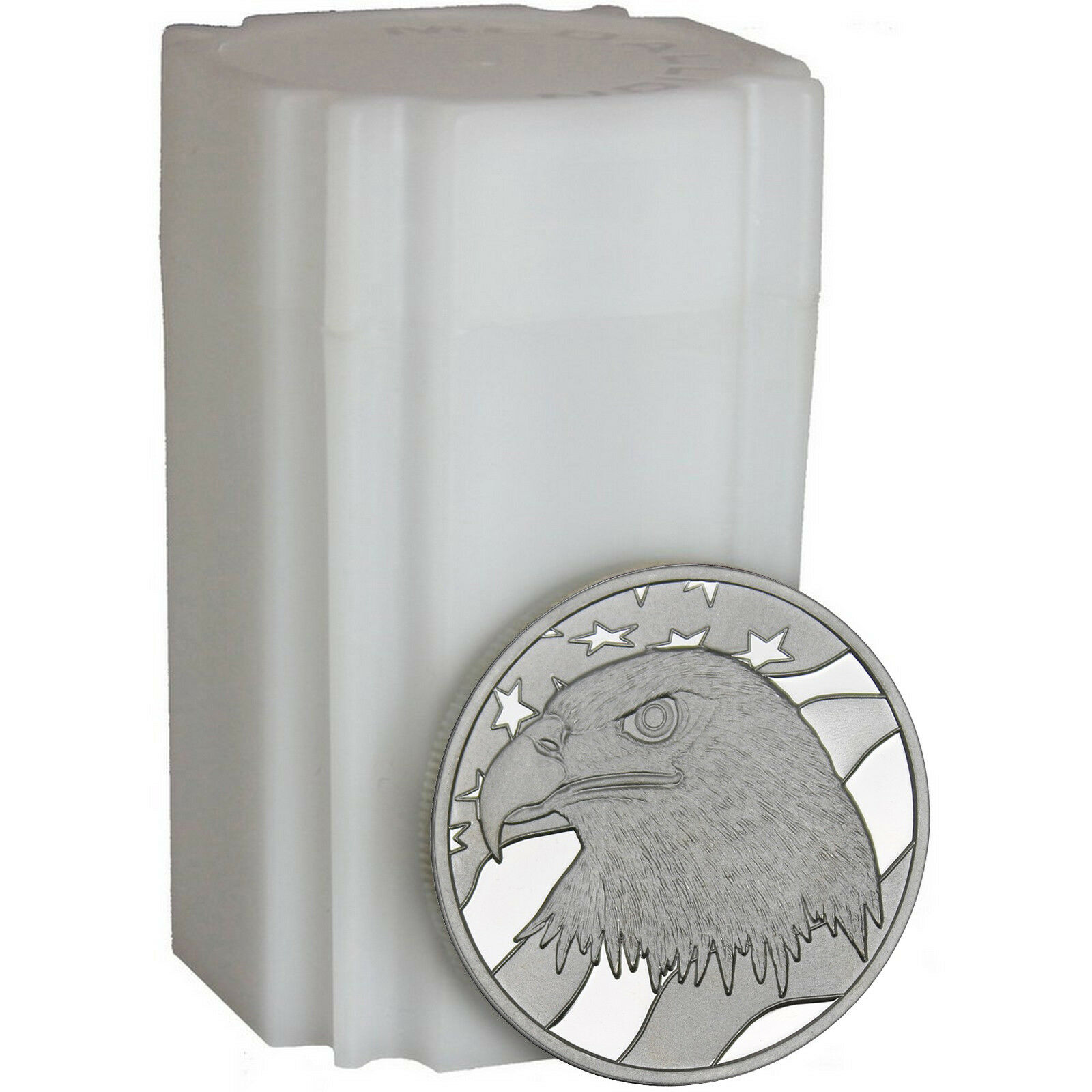 Купить Pledge of Allegiance Silver Eagle 1oz by SilverTowne-20 CT