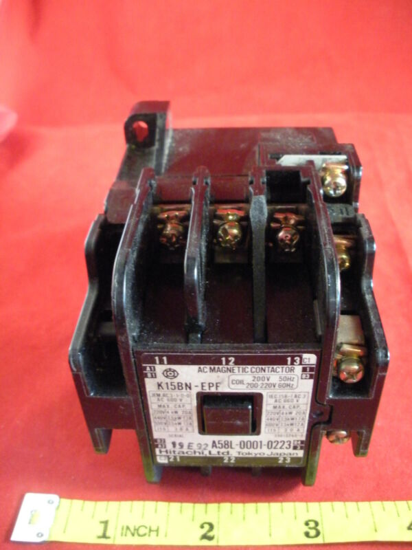 GE Hitachi Fanuc K15BN-EPF AC Magnetic Contactor Relay Coil 200v A58L-0001-0223