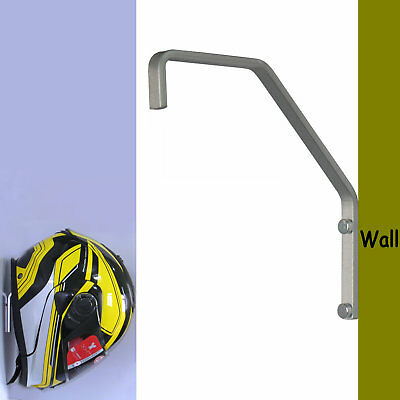 Helmet Hanger Wall Mount Display Rack for Motorbike/Hockey/Baseball/Bat Helmet