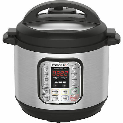 Stainless Steel  8 Quart Electric Pressure Cooker Pot XL Programmable 7in1 Rice