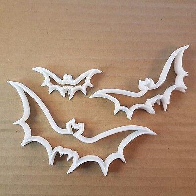 Halloween Bat Cookies (Vampire Bat Animal Halloween Shape Cookie Cutter Biscuit Pastry Fondant)