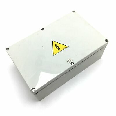 Electrical Enclosure 9.875 X 6.375 X 3.625 Holes Added Missing Cover Screw