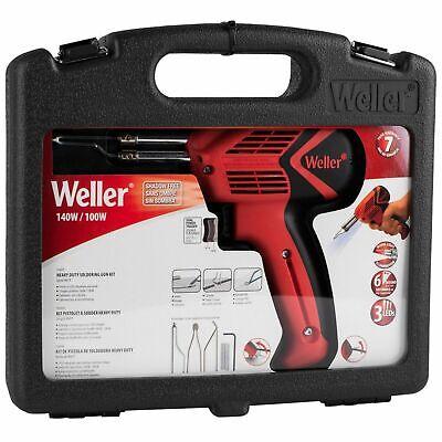 Weller 9400pks 120v Dual Heat 140100w Universal Soldering Gun Kit - We Export