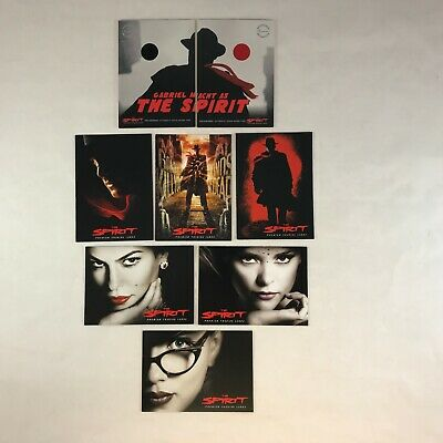 THE SPIRIT PIECEWORKS Costume Card Set #PW12A & #PW12B HAT & TIE w/ 6 Promos - The Spirit Costume