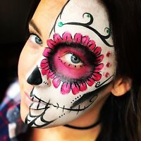 Amazing face painting, balloon twisting and glitter tattoos