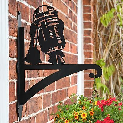 New R2D2 Iron Hanging Basket Bracket - 48cm x 33cm
