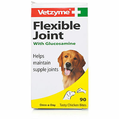 Vetzyme Flexible Joint Tablets for Dogs (90 tablets)