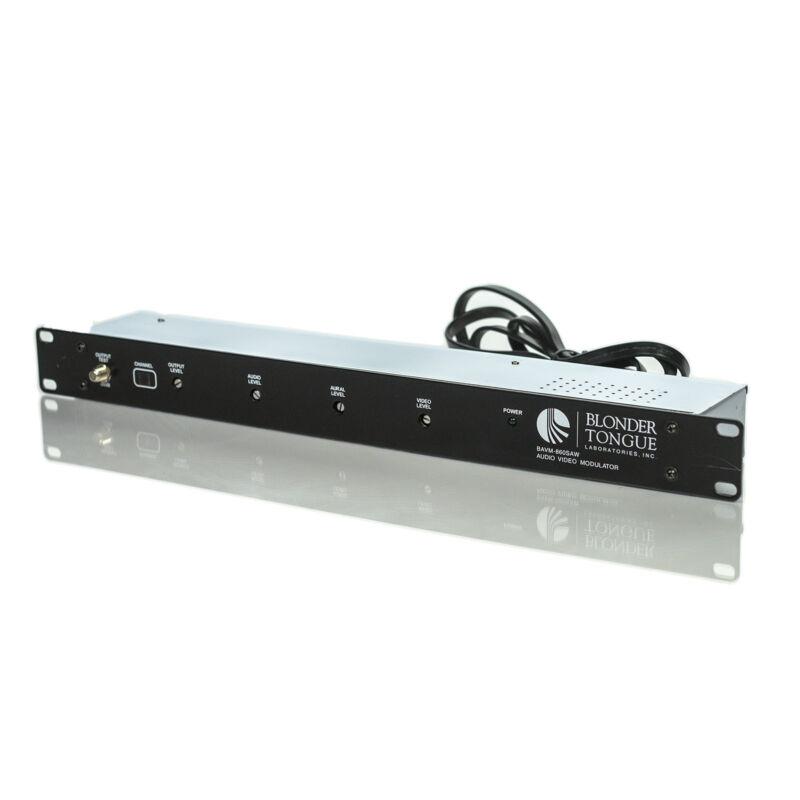 Blonder Tongue Ch 12 BAVM-860SAW Channelized Audio/Video Modulator (Channel 12)