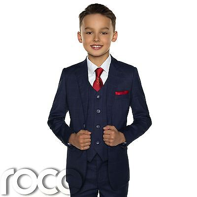 Boys Navy Suit, Holy Communion Suit, Navy Holy Communion - Communion Boys