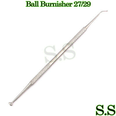 1 Ball Burnisher 2729 De Dental Amalgam Instruments