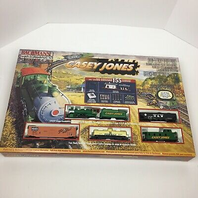Bachmann HO Scale CASEY JONES Train Set # 00617 Used Incomplete