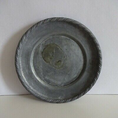 Plate Pewter Decorative Plate Approx. 11 CM pro Animal Neutral