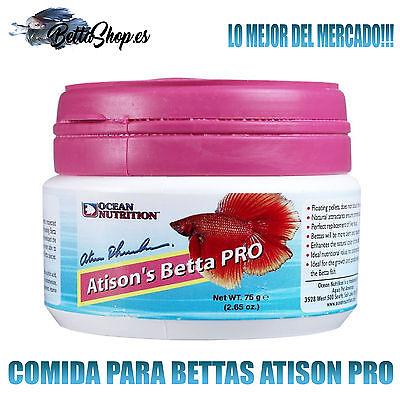 COMIDAS PARA PECES COMIDAS PARA BETTAS ATISON PRO COMIDA BETTA PECES PEZ...