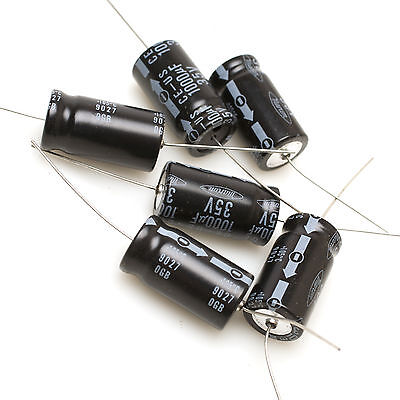 Marcon Ce-us 1000mfd Electrolytic Capacitor 35v Pack Of 6