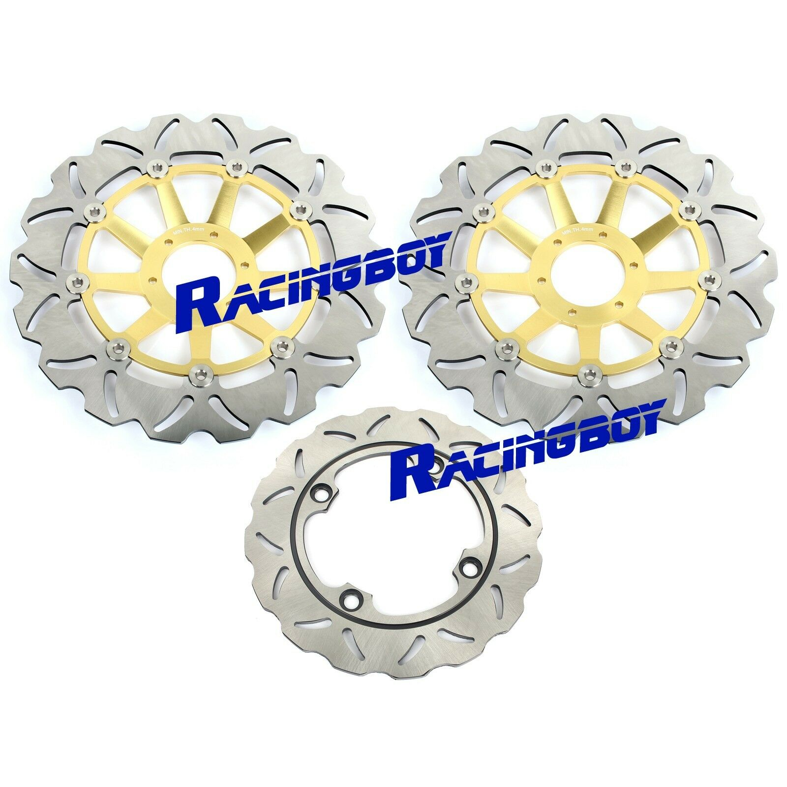 Rear Disc Brake Pads for Honda CBR900RR 1998 919cc By GOLDfren SC33