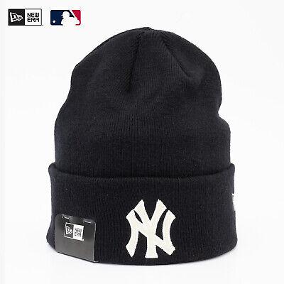 New Era Cap MLB New York Yankees Winter Mütze Beanie The Lounge Schwarz BW Sale
