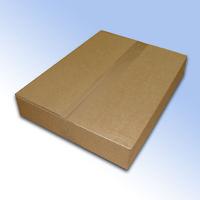 10 Royal Mail Small Parcel postal mailing boxes maximum size of 450x350x80mm