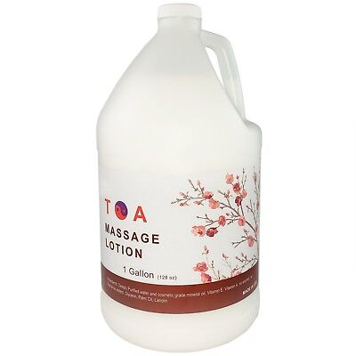 Hydrating Unscented Body Lotion - TOA Hydrating Body Unscented Massage Lotion 1 Gallon