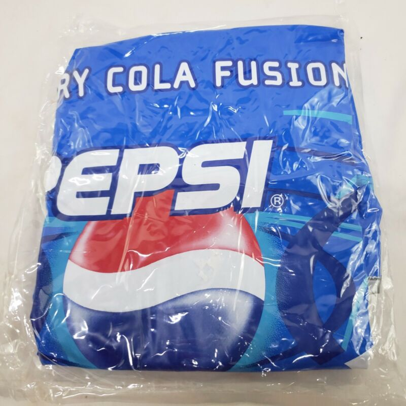 Pepsi Blue Berry Cola Fusion Can - Inflatable NOS SEALED