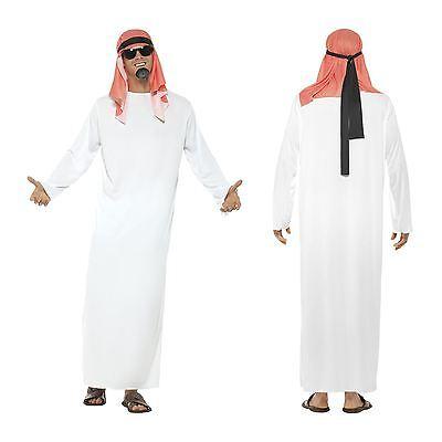 Mens Sheikh Arab Arabian Prince Sahara Fancy Dress Costume Stag Party - Arabische Party Kostüm