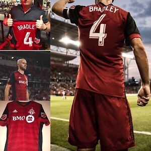 Michael Bradley Cup Final Game Used Toronto FC jersey