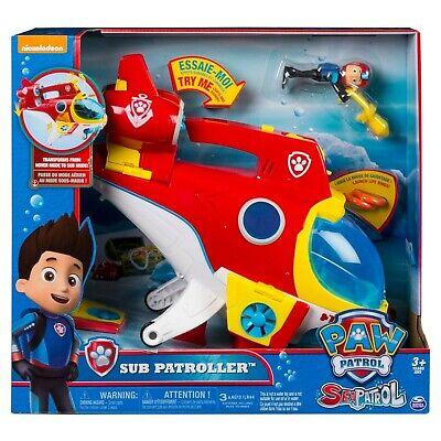 NEW Spin Master 6040052 Paw Patrol Sea Patrol Sub Patroller Vehicle Playset