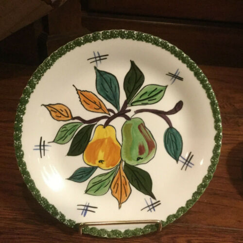 Vintage One Parry Vieille (PV) & 1 Blue Ridge Southern Pottery Plate Signed