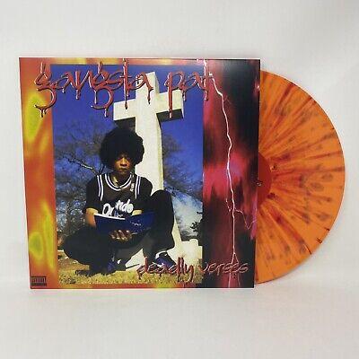 Gangsta Pat - Deadly Verses Vinyl Record LP Orange Variant Memphis Local Hip-Hop