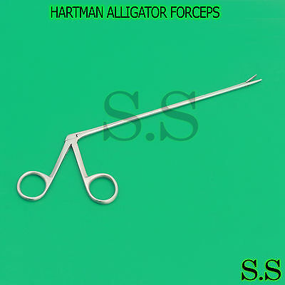 New Premium Grade Hartman Alligator Forceps 8 Surgical